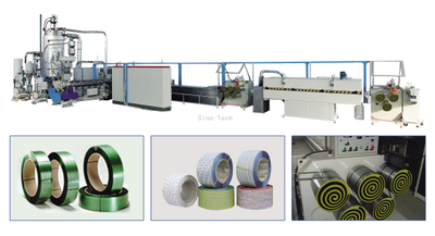 PET Packing Strap Extrusion Production Line