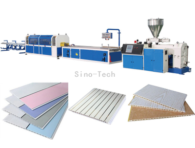 Plastic PVC ceiling making machine